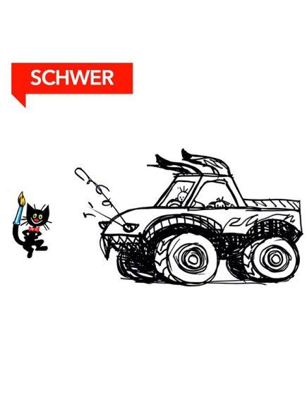 Wie malt man einen Monster Truck